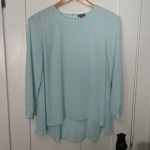 Vince Camuto Hi-Low Blouse